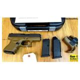 Glock 26 GEN 4 FDE 9MM Semi Auto Pistol. NEW in Bo