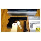 Beretta 87 TARGET .22 LR Semi Auto Pistol. NEW in