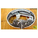North American Arms .22 LR Belt Buckle. New in Box