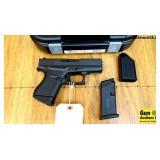 "Glock 43 9MM Semi Auto Pistol. NEW in Box. 3.5"" Ba"