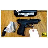 Walther P22 THREADED BARREL .22 LR Semi Auto Threa