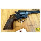 "Rohm 30 .22 LR Revolver. Very Good. 4"" Barrel. Shi"