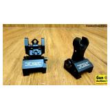 Troy AR15 Sights. NEW. 2 In Total Front and Rear A