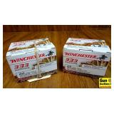 Winchester .22LR Ammo. 666 Rounds of 36 Grain Holl
