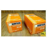 Gemtech .22 LR Ammo. 1000 Rounds of Silencer Subso