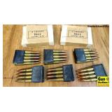Military Surplus 30-06 Ammo. 100 Rounds in total ;