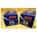 CCI Quiet 22 .22LR Ammo. 1000 Rounds of 40 Grain L