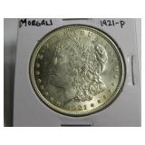 1921 MORGAN DOLLAR, NICE