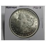 1921 MORGAN DOLLAR, NICE