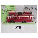 STRUCTO FIRE TRUCK, NEW IN BOX