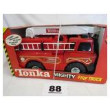 MIGHTY TONKA FIRE TRUCK, NIB, PLASTIC