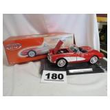 1/12 SCALE 1958 CHEVY CORVETTE, NEW IN BOX