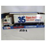 NYLINT WAL-MART 18-WHEELER, NEW IN BOX