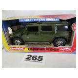 BUDDY L HUMMER H2, 1/12 SCALE, NEW IN BOX
