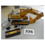 EXCAVATOR ON TRACKS W/CONTROLS, UNTESTED
