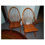 PAIR OF CAPTAINS CHAIRS