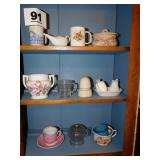 LOT OF MISC KITCHEN ITEMS