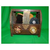 ESQUIRE SHOE SHINE BOX (AS IS)