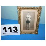1927 FREEPORT HS BASKETBALL PLAYER PHOTO