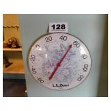 LARGE LL BEAN OUTDOOR THERMOMETER
