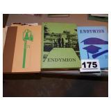 (3) THIEL YEARBOOKS, 1971, 72 & 73