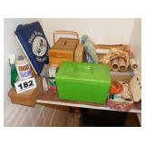 SEWING LOT, BASKETS & MORE
