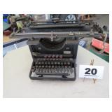 OLD REMINGTON STANDARD TYPEWRITER
