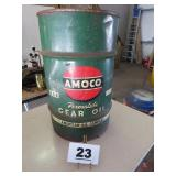 AMOCO 35 GAL PERMALUBE TRASH CAN