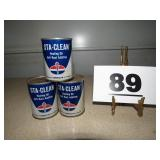 3 CANS STA-CLEAN HEATING OIL ADDITIVE