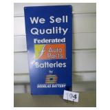 FEDERATED AUTO PARTS SIGN