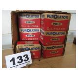 LOT OF PER-11 PUROLATOR OIL FILTERS