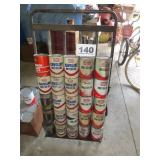 20 UNOPENED CANS OF MOTOR OIL
