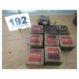 LOT OF DOLE THERMOSTATS