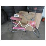 HUFFY YOUNG GIRLS BICYCLE