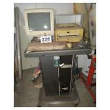 CABINET WITH MONITOR