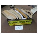 HASTINGS PISTON RINGS BOOK RACK