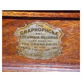 Label on Graphophone