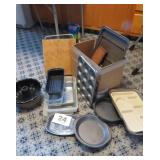 BAKING PANS, CUTTING BOARDS, COOKIE SHEETS