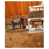 2 BOXES OF PICTURE FRAMES