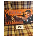 MAN FROM U.N.C.L.E. GAME, IDEAL MFG.