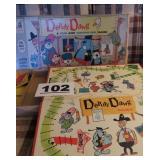 DEPUTY DAWG GAME, MILTON BRADLEY