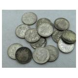 15 - ROOSEVELT SILVER DIMES