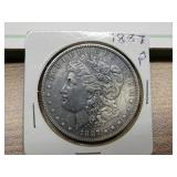 1887P MORGAN SILVER DOLLAR