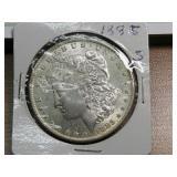 1885S MORGAN SILVER DOLLAR