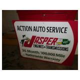 JASPER ENGINE SIGN