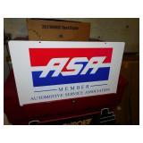 AUTO SERVICE ASSOC ASA SIGN
