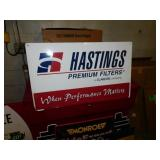 HASTINGS OIL FILTER SIGN