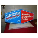 SPICER STEERING & ALIGNMENT CENTER SIGN
