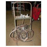TORCH CART WITH HOSES