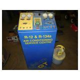 R-12/R-134 A/C SERVICE MACHINE